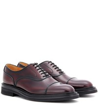 Church's Pam Leather Oxford Shoes Red