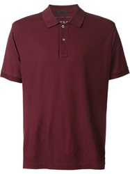 Atm Classic Polo Shirt Red