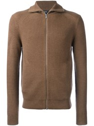 Theory 'Ronzons' Cardigan Brown