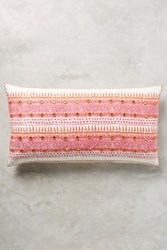 Anthropologie John Robshaw Primrose Pillow Pink
