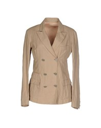 M.Grifoni Denim Suits And Jackets Blazers Women Beige
