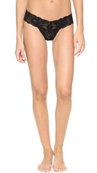 Cosabella Never Say Never Cutie Low Rise Thong Black