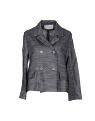 Jucca Suits And Jackets Blazers Women Slate Blue
