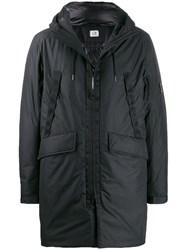C.P. Company Cp Padded Feather Down Jacket Black