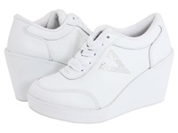 Volatile Cash White Women's Wedge Shoes