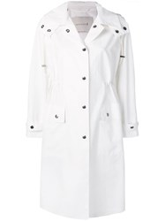 Mackintosh White Hooded Coat Lm