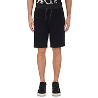 Rag And Bone Men's French Terry Knox Shorts Black