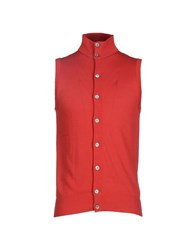 Ballantyne Knitwear Cardigans Men Red
