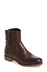 Blackstone Women's 'Bw30' Ankle Boot Dark Brown Leather