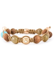 Shamballa Jewels Beaded Bracelet Nude And Neutrals