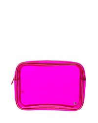 Stephanie Johnson Miami Jumbo Zip Cosmetic Bag Fuchsia