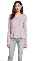 Feel The Piece Eloise Ribbed Top Lavender