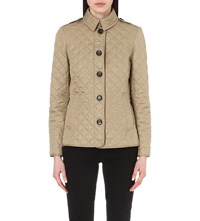 Burberry Ashurst Diamond Quilted Jacket Canvas