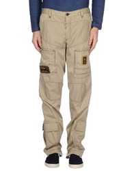Aeronautica Militare Trousers Casual Trousers Men Beige