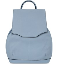 Rag And Bone Mini Pilot Leather Backpack Light Blue