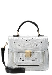 Lydc London Handbag Black Silver