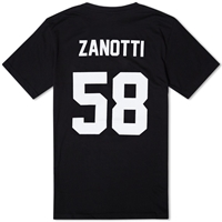 Les Art Ists Zanotti Football Tee Black