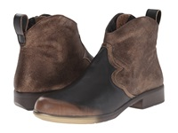 Naot Footwear Sirocco Volcanic Brown Bronze Shimmer Suede Grecian Gold Leather Women's Boots