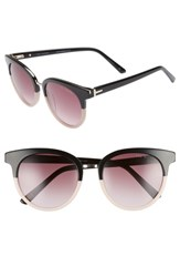 Ted Baker London 52Mm Round Sunglasses Black