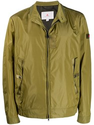 Peuterey Jacket With Logo Tag Green