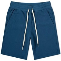 John Elliott Sweat Short Blue