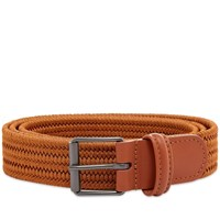 Andersons Anderson's Slim Woven Textile Belt Brown