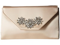 Jessica Mcclintock Riley Clutch Champagne Clutch Handbags Gold