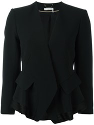 Chloe Draped Jacket Black