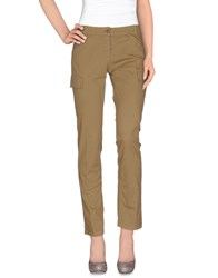 Henry Cotton's Trousers Casual Trousers Women Khaki