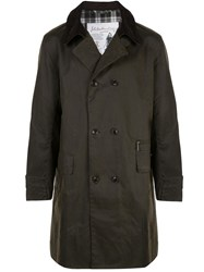 Barbour Double Breasted Coat 60