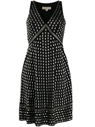 Michael Kors Georgette Stud Embellished Dress 60