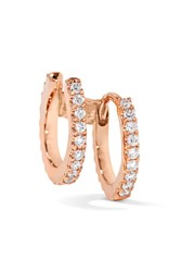 Maria Tash 18 Karat Rose Gold Diamond Earring One Size