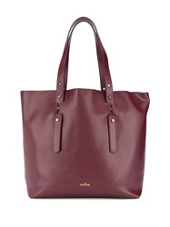 Hogan Large Tote Bag Red