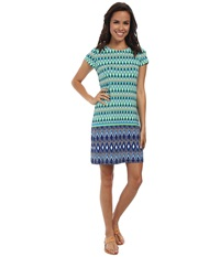 Hatley T Shirt Dress Diamond Tide Women's Dress Green
