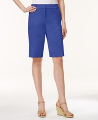 Charter Club Bermuda Shorts Only At Macy's Blazing Blue