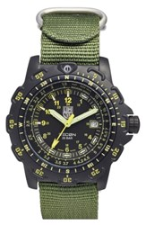 Luminox 'Land Recon Point Man' Nylon Strap Watch 45Mm