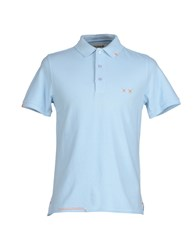 Project E Topwear Polo Shirts Men Blue