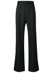Givenchy Wide Tailored Trousers Black
