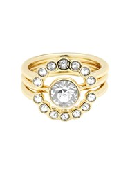 Ted Baker T13170202 Cadyna Crystal Ring Gold