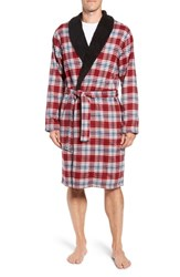 Ugg Kalib Robe Chili Pepper Plaid