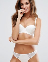 Boux Avenue Bridal Angelina Strapless A G Cup Bra White