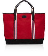 T. Anthony Men's Boating Tote Black Red Black Red