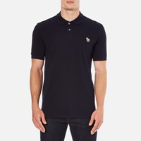 Paul Smith Ps By Men's Regular Fit Zebra Polo Shirt Navy