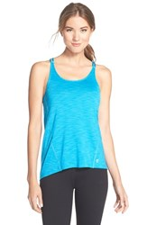Women's Betsey Johnson Scalloped Space Dye Tank Maliblu
