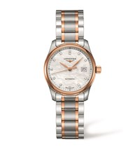 Longines Master Collection Date Watch Unisex White