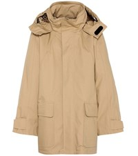 Balenciaga Cotton Coat Beige
