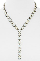 Women's Baublebar 'Luna' Y Chain Necklace Antique Gold