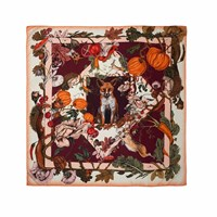 Klements Medium British Garden Scarf Neutrals