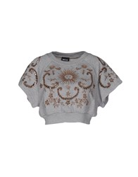 Just Cavalli Sweatshirts Grey