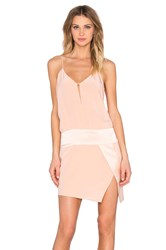 Mason By Michelle Mason X Revolve Exclusive Cami Mini Dress Blush